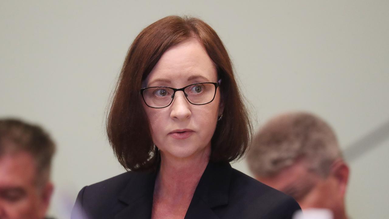 Yvette D'Ath at parliament. Pic Annette Dew