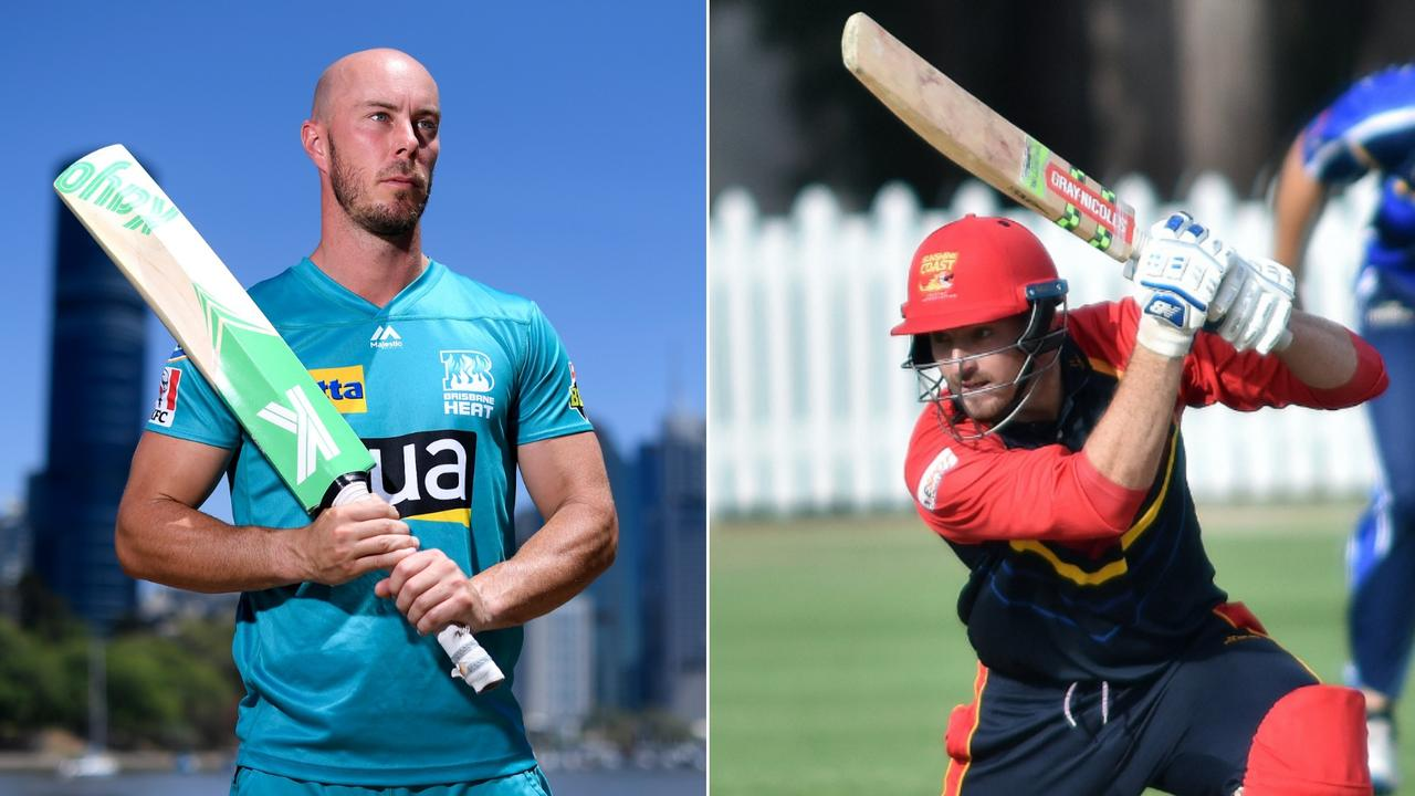 Toombul's Chris Lynn and Sunshine Coast's Blake Maher belted some big scores in a Queensland Premier Grade clash on the weekend.
