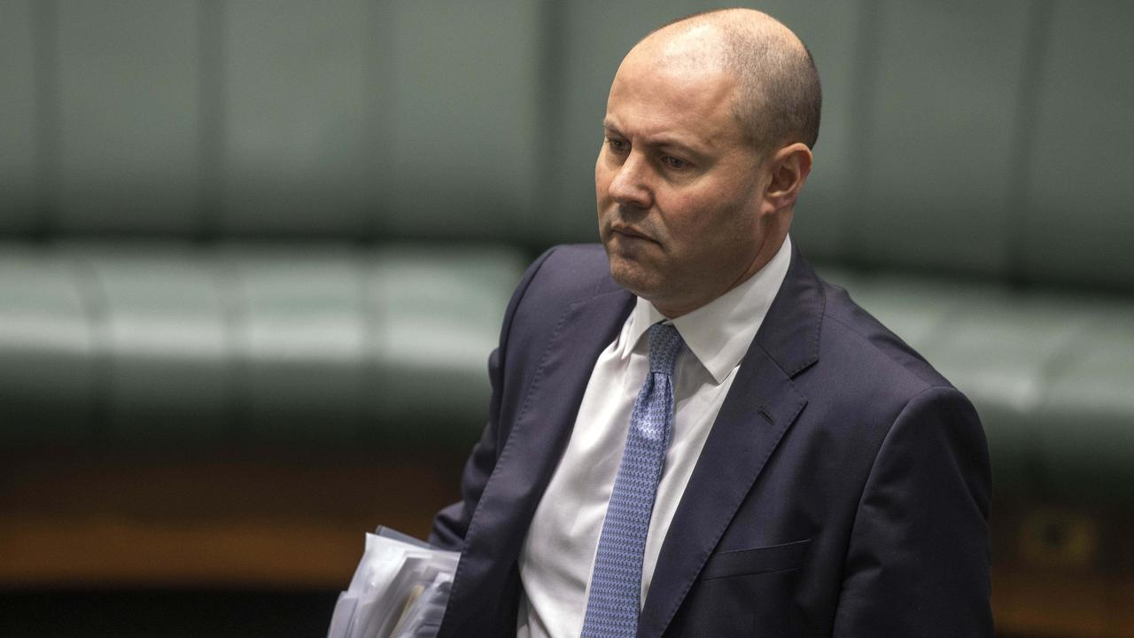Treasurer Josh Frydenberg says the Australian economy has been resilient during the pandemic. Picture: NCA NewsWire/Gary Ramage