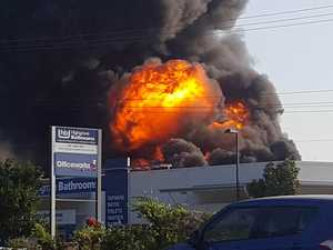 Man jailed after wife's lucky escape from major fire