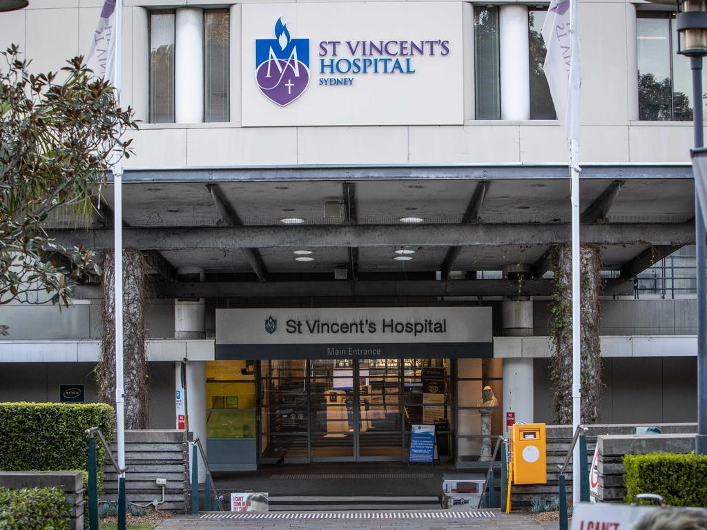 St Vincent's Hospital in Sydney has a six-bed ward close to the emergency department, where patients with a drug or alcohol problem can be admitted for care. Picture: Julian Andrews