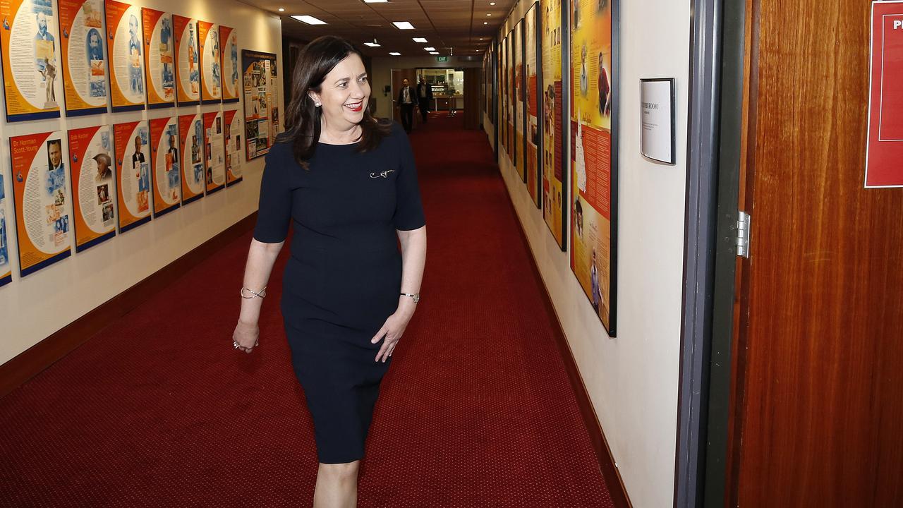 Premier Anastasia Palaszczuk says the tourism campaign will help create more jobs. Picture: Josh Woning