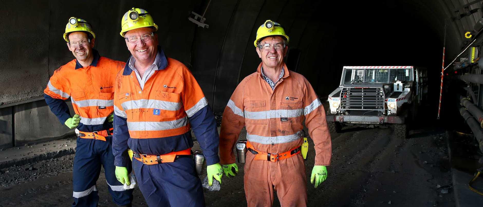 Hunter Coal Mine Barnaby Joyce