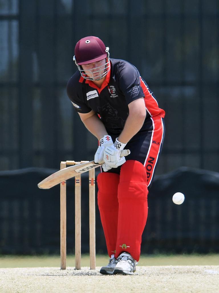 Norths batsman Jason Butterworth. Picture. Tony Martin