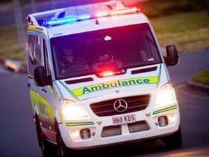 Women, 2 children hospitalised in crash
