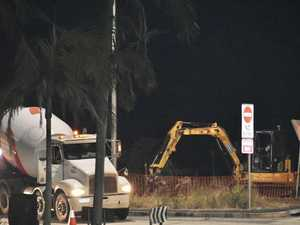 NIGHT MOVES: Work begins on Byron's first traffic lights