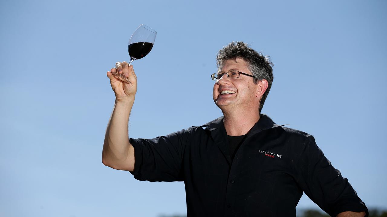 NOT CONCERNED: Symphony Hill Wines owner Ewen Macpherson believes the wine tariff won't impact Granite Belt wineries. Pics Adam Head