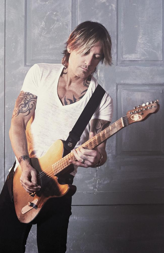 Keith Urban announces The Speed Of Now Australian shows. Picture: Supplied.
