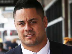 Hayne snaps in court after question