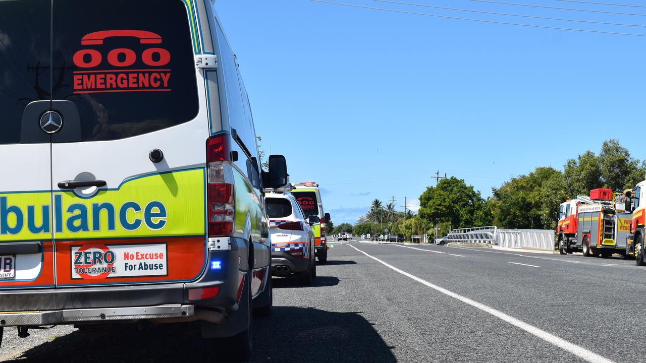 A car has struck a guard rail on Yeppoon Rd at Iron Pot. Pic: file photo