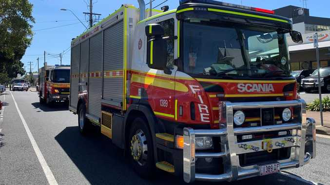 Small fire breaks out at Rocky shopping centre