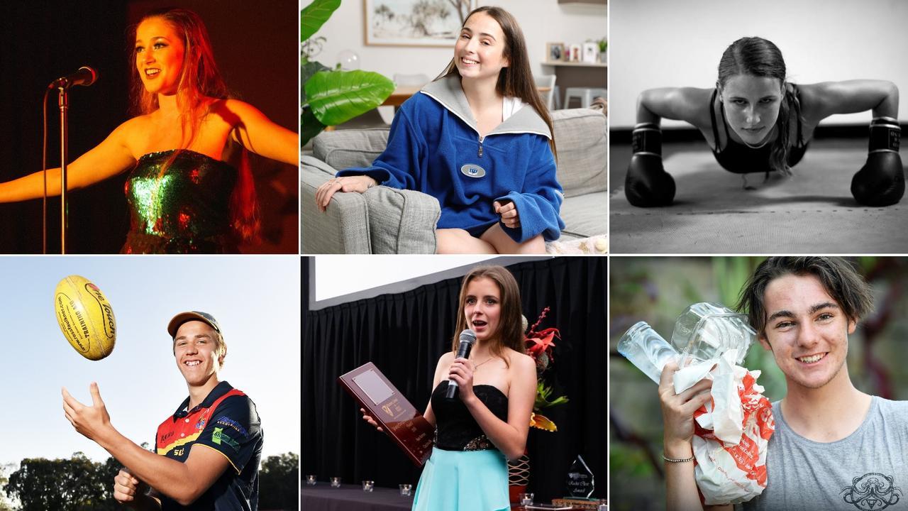 Emma Tomlinson, Savannah Fretwell, Jayda Glazebrook, Shadeau Brain, Paris Ramsay and Rylee Burgess are among 20 of the Coast's most inspiring future leaders under 20.
