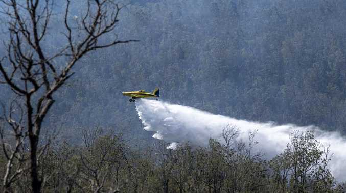 "Waterbombing ""very heavily"": Fire chief explains Kingfisher defence"