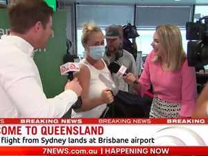'Car crash' TV as rival reporters clash