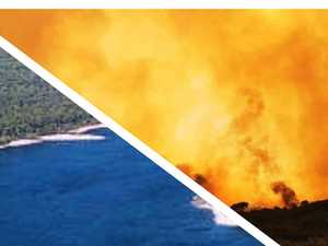 Why island's freshwater is off limits to fire bombers