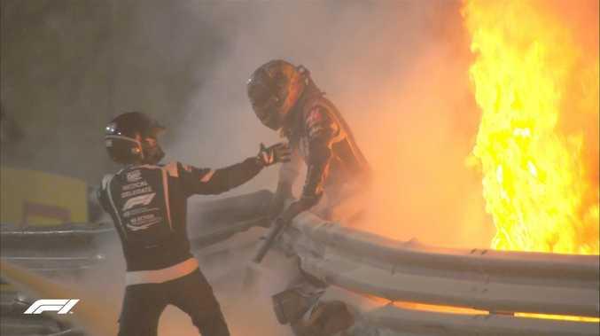 'I saw death': Grosjean reveals horrific detail of fireball