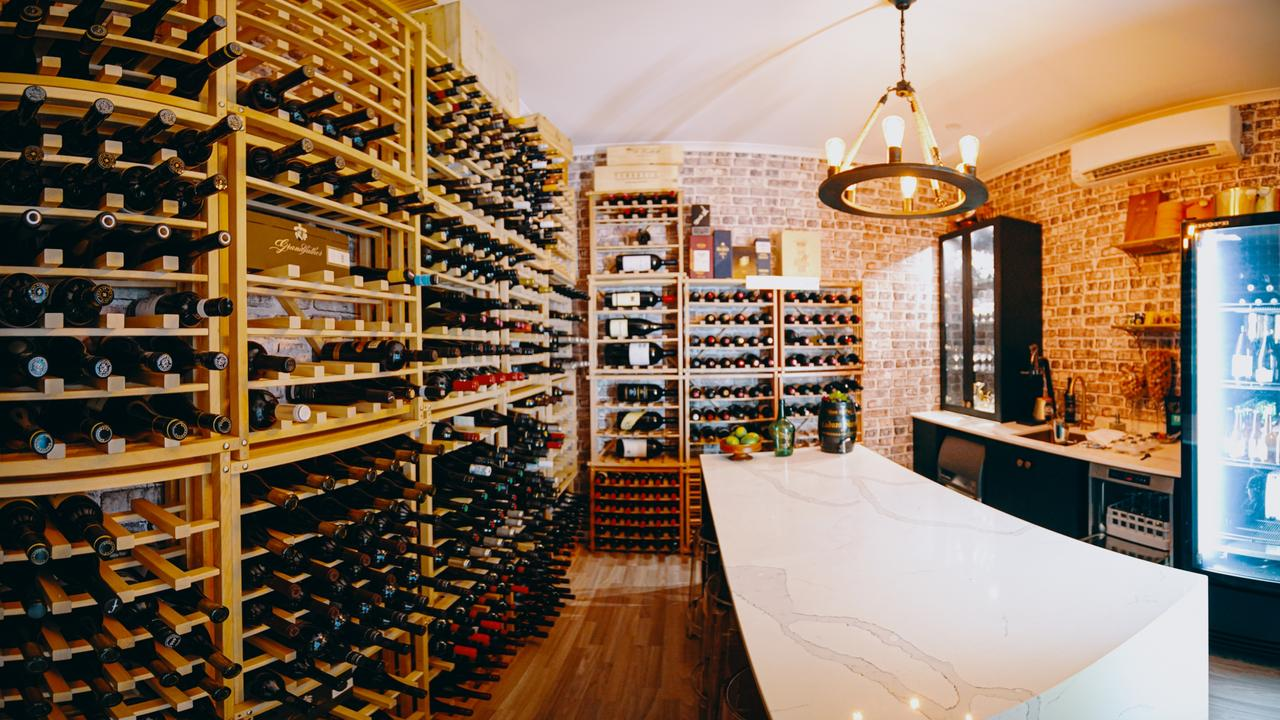The 'membership fees' keep Rob Nixon's wine cellar stocked.