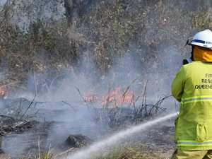 BUSHFIRE: Boyne Valley blaze spreads to inaccessible areas