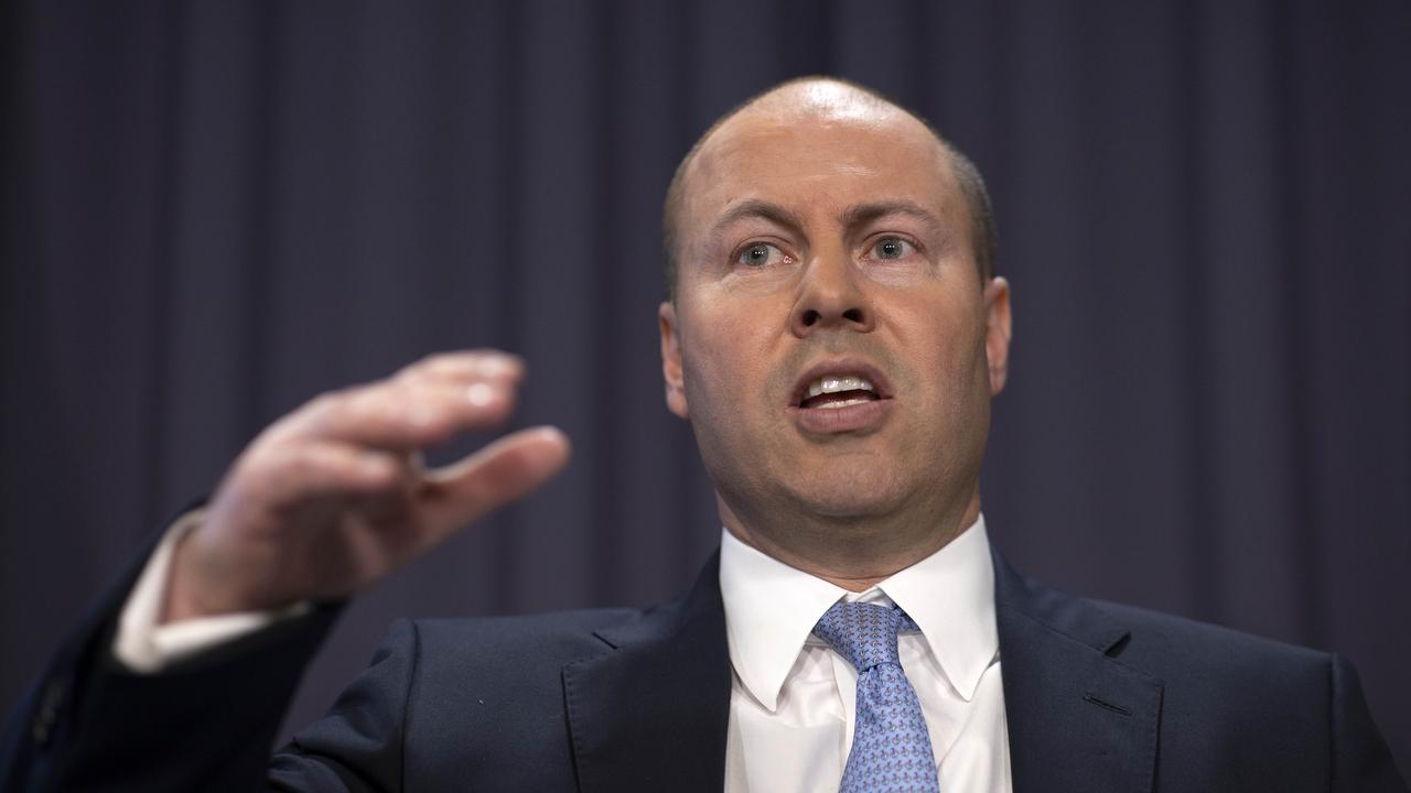 Treasurer Josh Frydenberg says the recession is over, but the economic recovery is not. Picture: Gary Ramage/NCA NewsWire