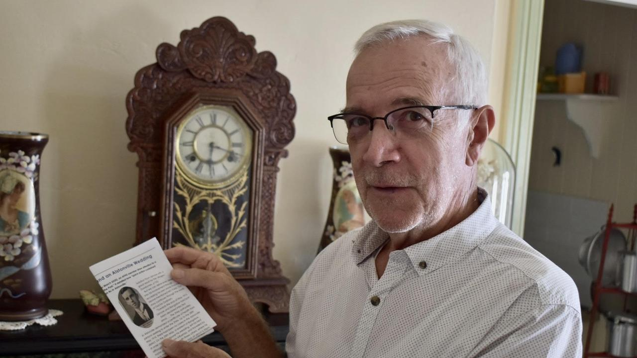 Alstonville Historical Society member John Sim.