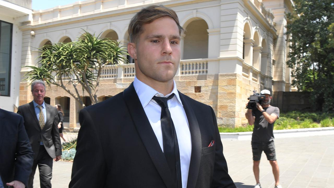 Jack de Belin at Wollongong Courthouse. Picture: NCA NewsWire / Simon Bullard