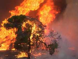 UPDATE: 'Acres of land' burned in Gracemere bushfire