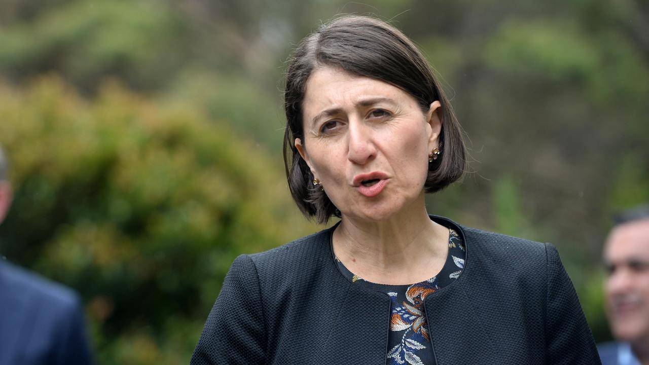 'From Monday, life will be very different in NSW,' Ms Berejiklian said. Picture: NCA NewsWire/Jeremy Piper