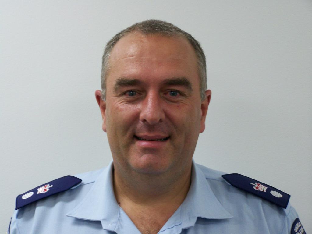 Rural Fire Service Queensland regional manager North Coast Region Superintendent Peter Hollier.