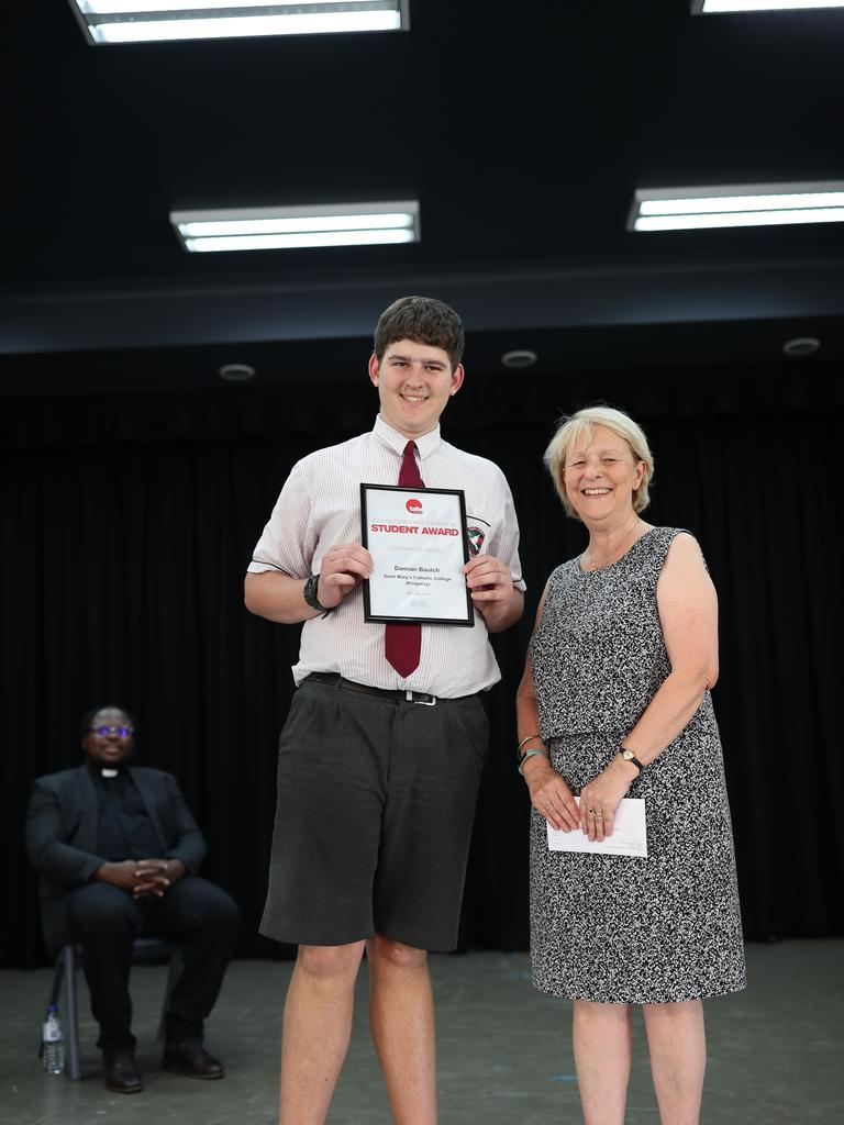 Damien Baulch, TAFE Vocational Student of the Year.