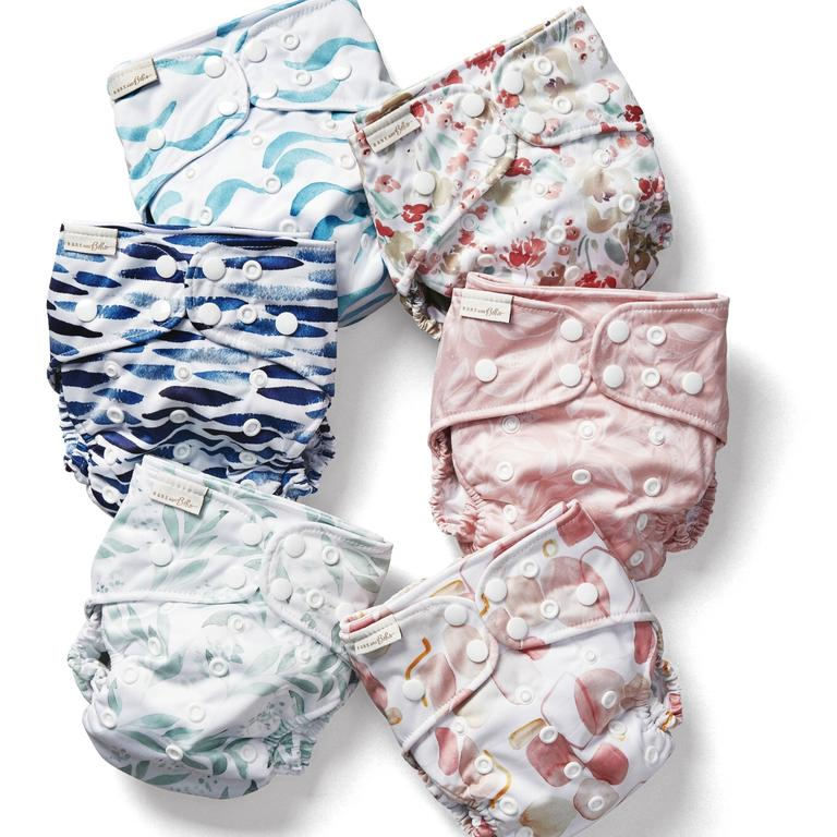 Bare and Boho reusable nappies have been an Aldi Special Buys sellout. Picture: Supplied