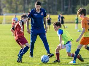 Here's how your kids can train with A-League stars