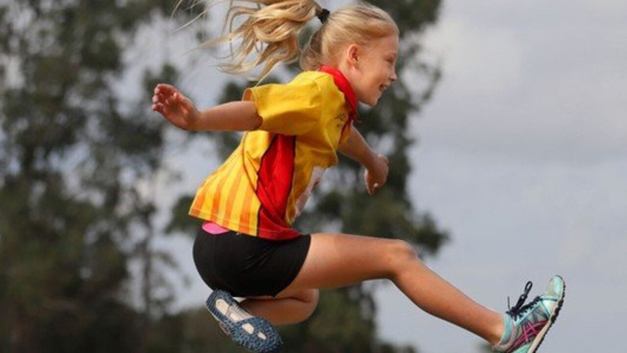 North Mackay Little Athletics member, Amy Lester.