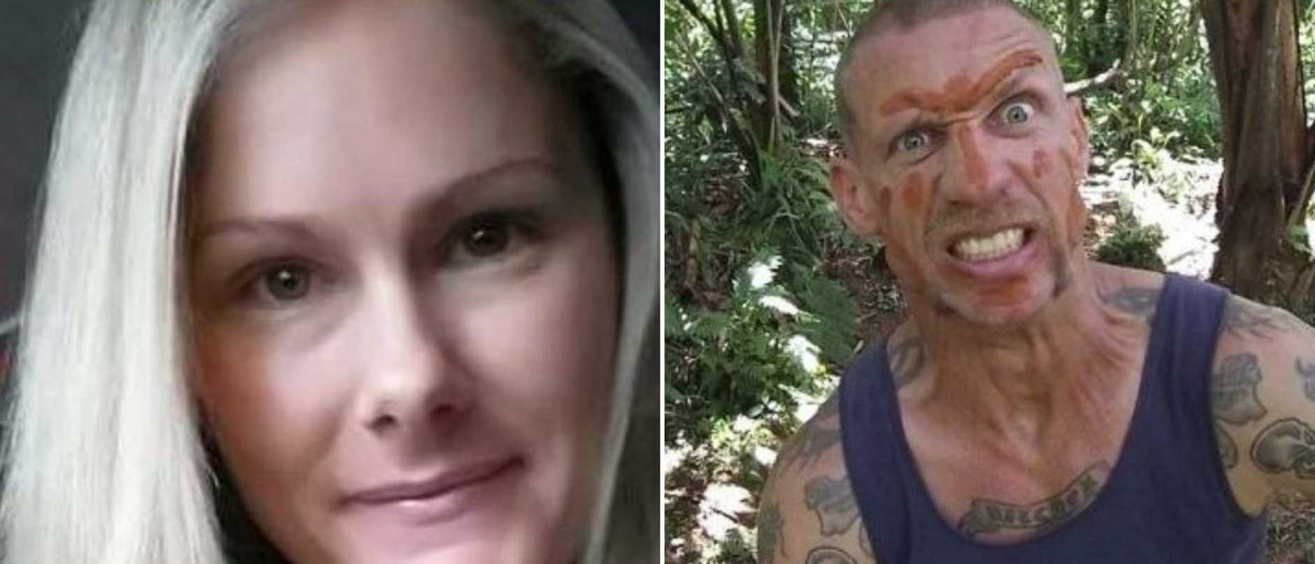 Corinne Henderson's new love has told a jury he heard her last words as he hid in a bathroom just metres from where she was killed.