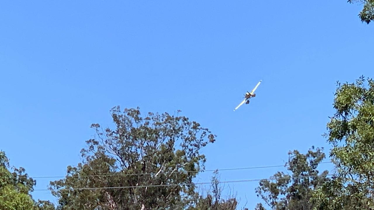 What's believed to be a waterbombing aircraft was spotted flying over South Kolan over the weekend.