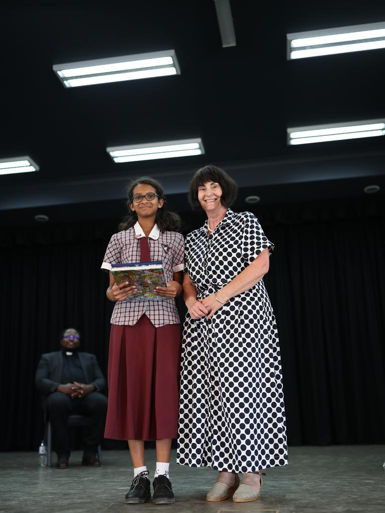 Diya Sanju, Encouragement for Excellence Award sponsored by Minister David Littleproud.