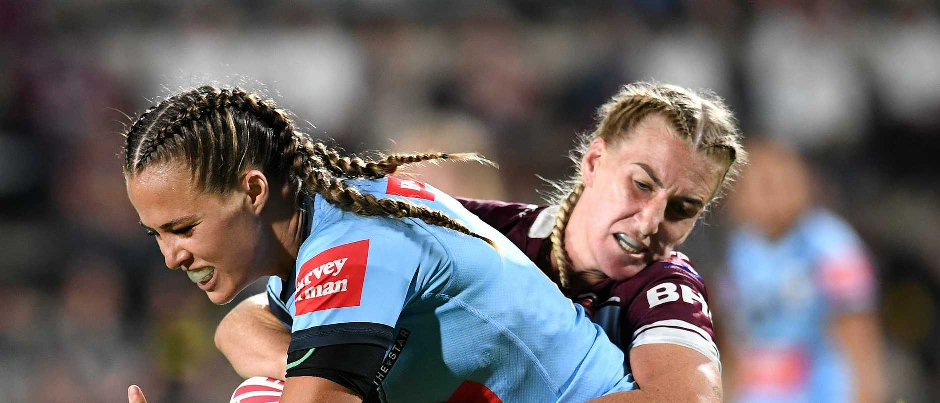 Women's State of Origin - QLD v NSW