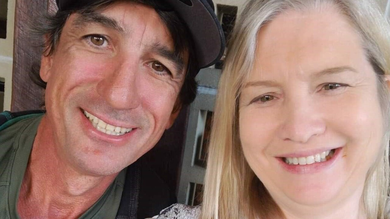 Melanoma survivor Deborah Butler and her partner Adrian Crennin are looking ahead to a better future.