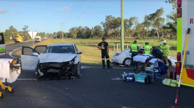 Teen still in hospital after serious Cap Coast crash