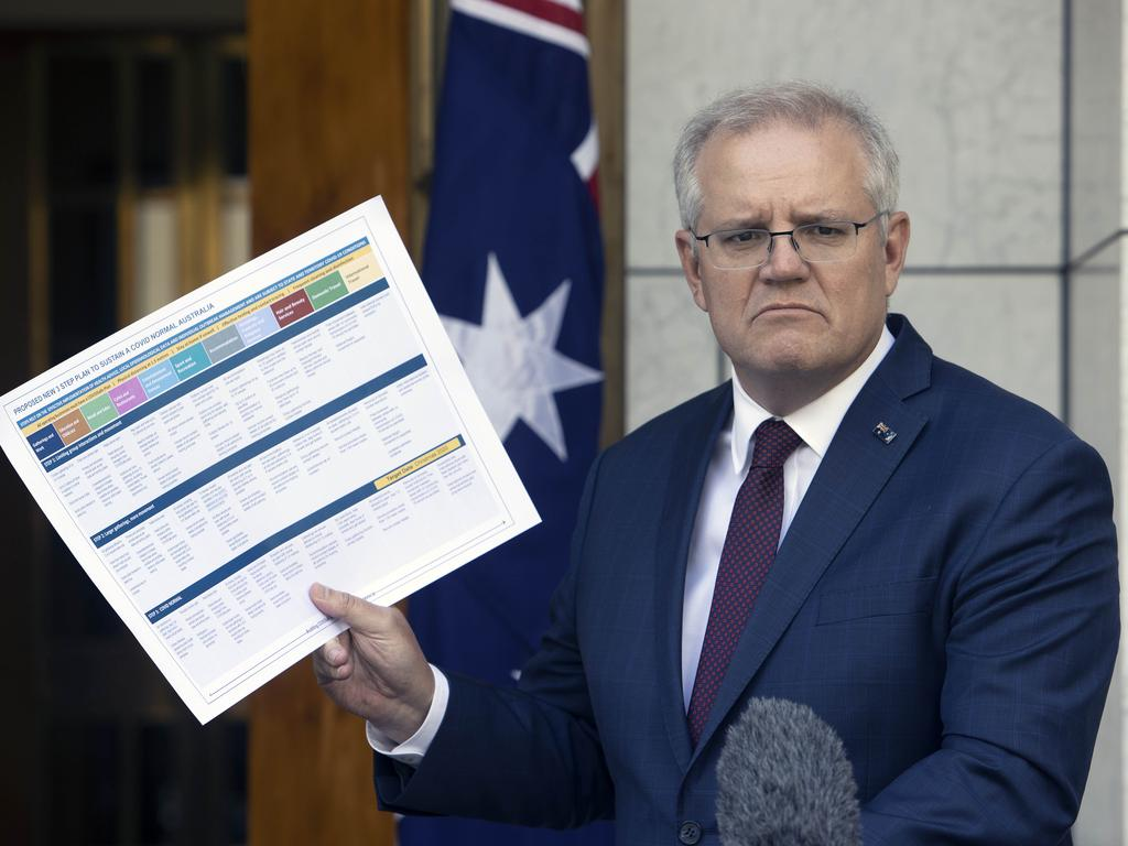 Scott Morrison flagged a reversal on the use of Kyoto carry-over credits. Picture: NCA NewsWire/Gary Ramage