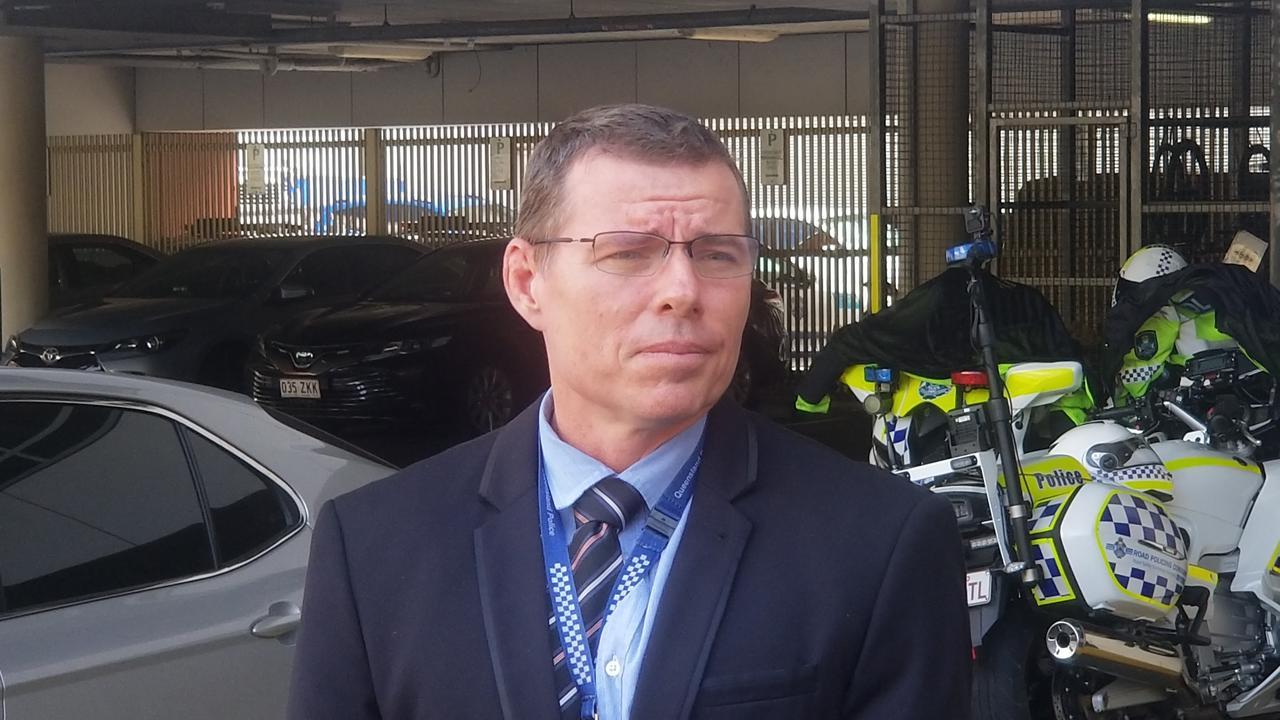 Detective Senior Sergeant Damien Smith.