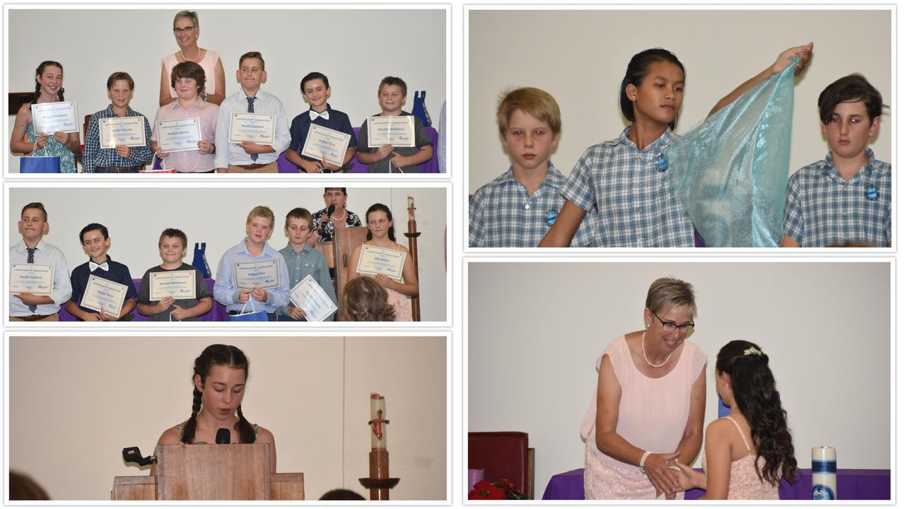 St Joseph's Primary School Year 6 Graduation. Collage: Kristen Camp