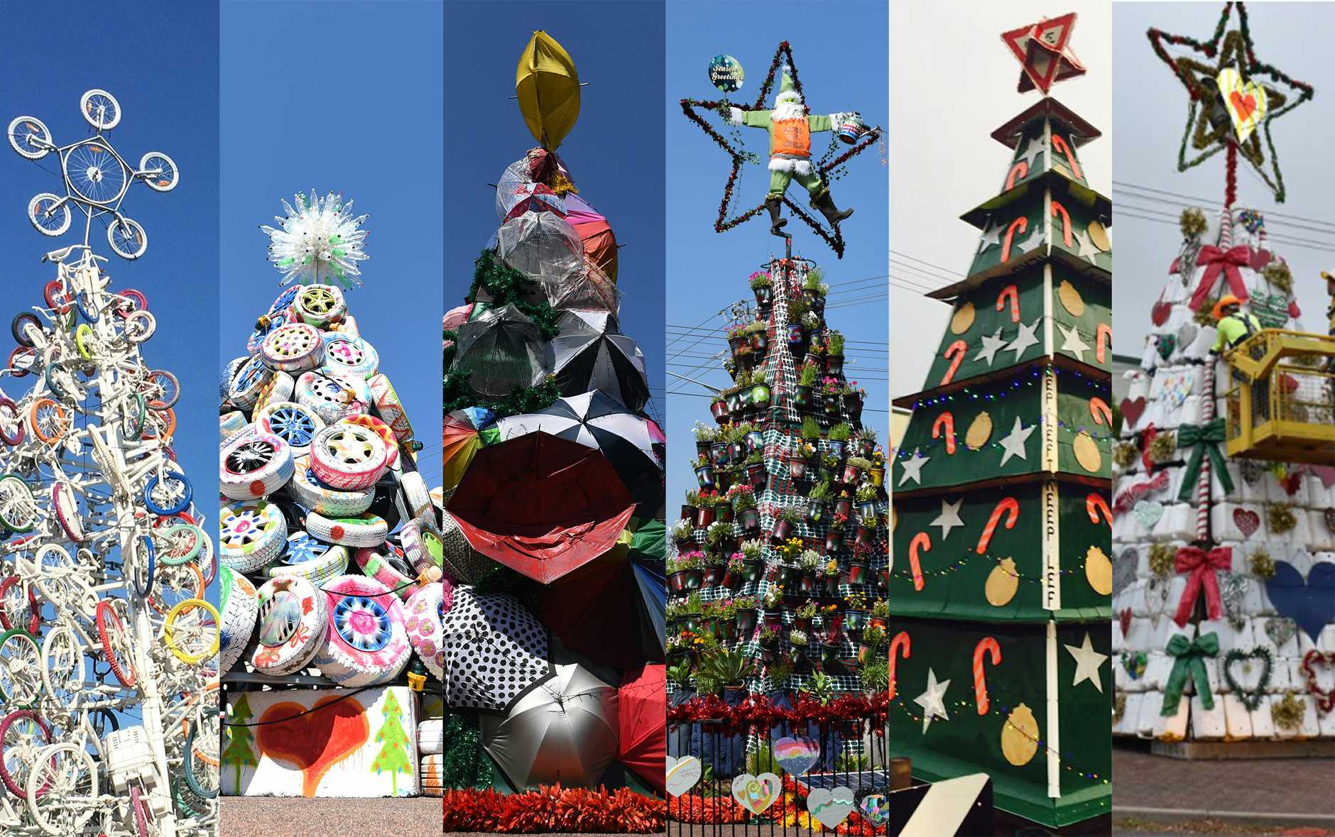 Which is your favourite recycled Christmas tree?