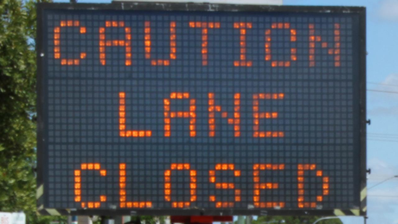 A major road between Bowen and Collinsville has been blocked Photo: Jojo Newby
