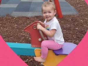 Hearts ache as family grieves loss of 'little angel'