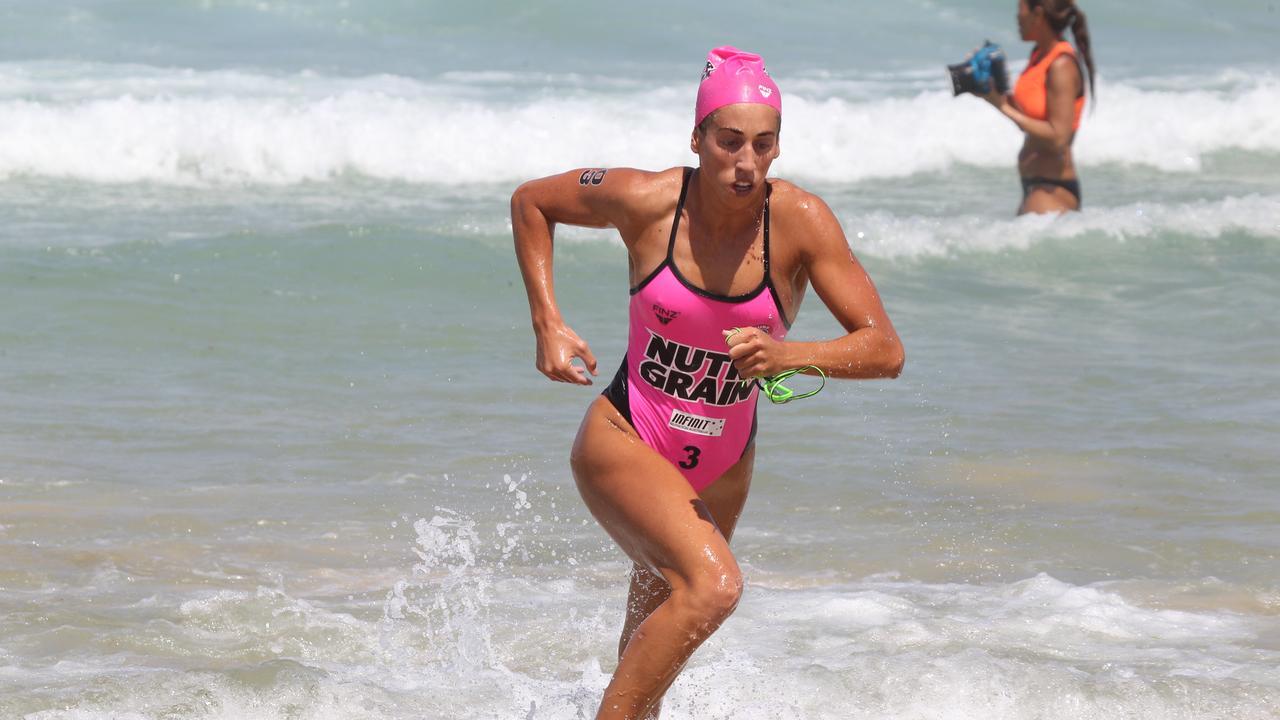 Alex Head athlete Lana Rogers. Pic Mike Batterham