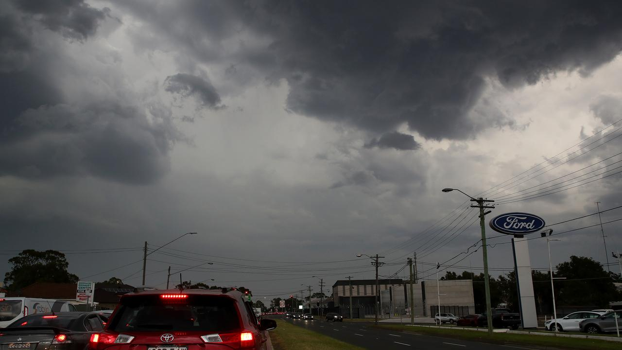 Storms driven by a La Nina weather pattern are still forecast for Central Queensland in December and through summer. Picture: Toby Zerna