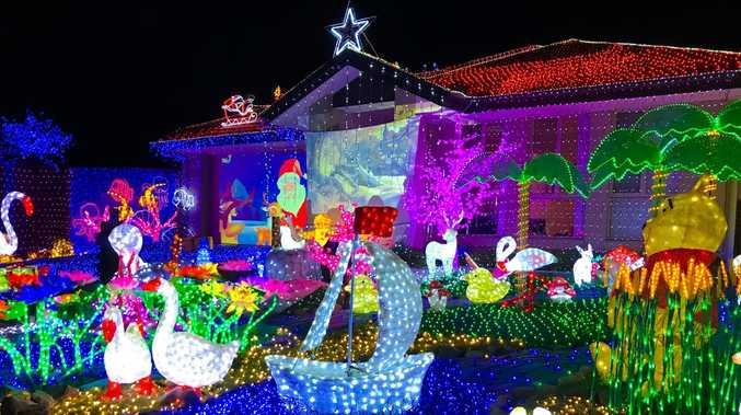 LIST: The houses lighting up the North Burnett this Christmas