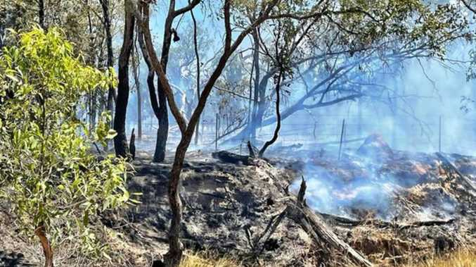 Fireys fight two bushfires in the Western Downs