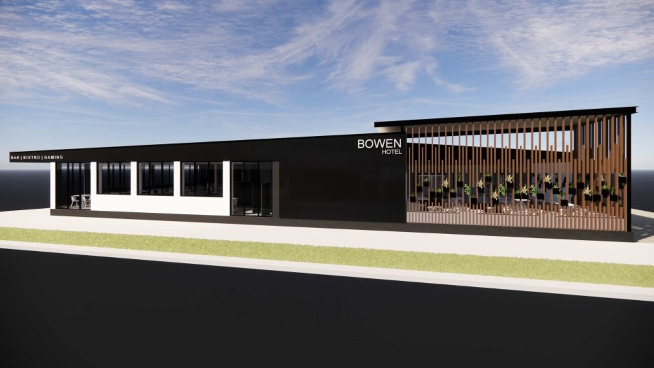 The Bowen Hotel is set to get a major facelift. Picture: Supplied
