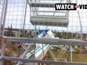 Plane crashes into Ferris wheel at NSW festival